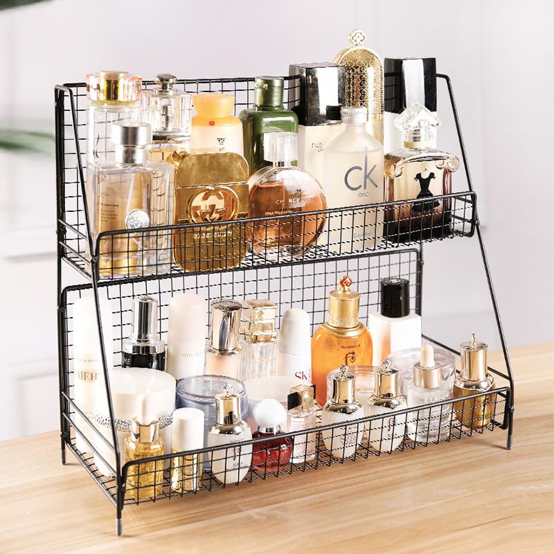 桌面卧室化妆品铁厨房用品收纳架10月19日最新优惠