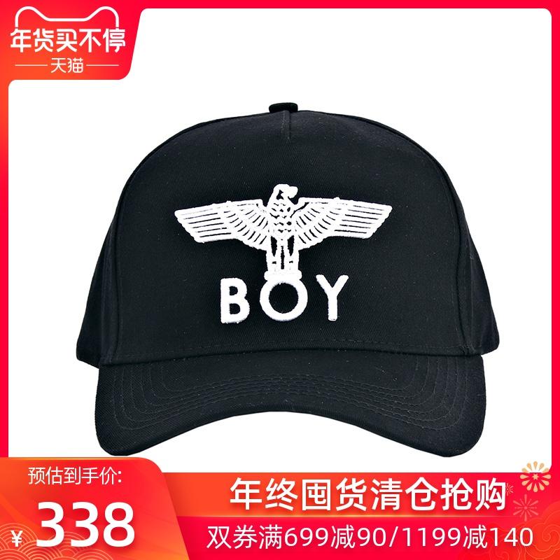 BOY LONDON 伦敦男孩 可调节棒球帽 鹰标时尚潮流嘻哈风鸭舌帽