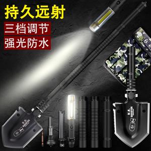 汉道工兵铲中国军版原品多功能军工户外车载折叠德国铁锹兵工铲子