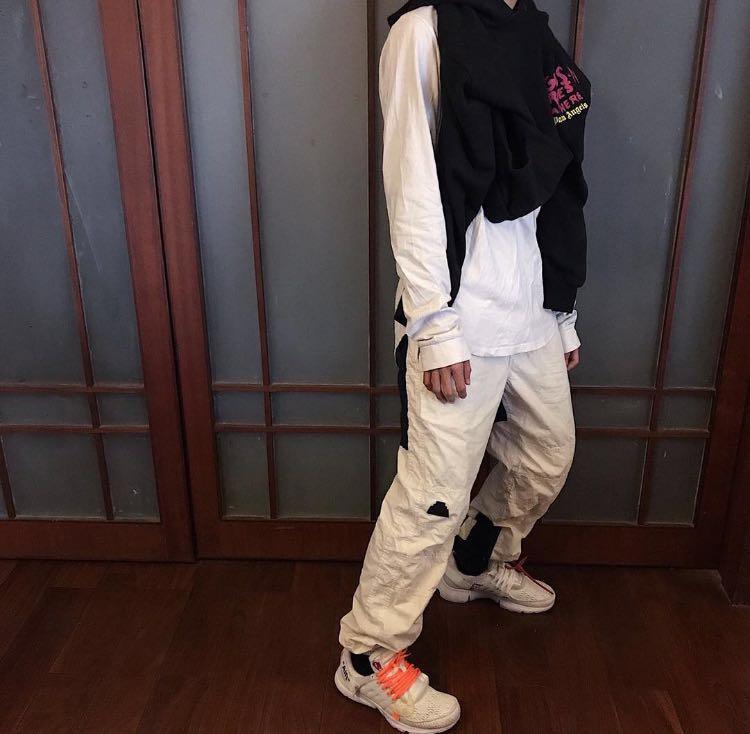 新品 CAVEMPT C.E 休闲裤男薄款夏裤 天丝休闲裤男 束腿裤男潮牌(非品牌)