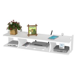 简约机顶盒路由器wifi猫墙上置物架