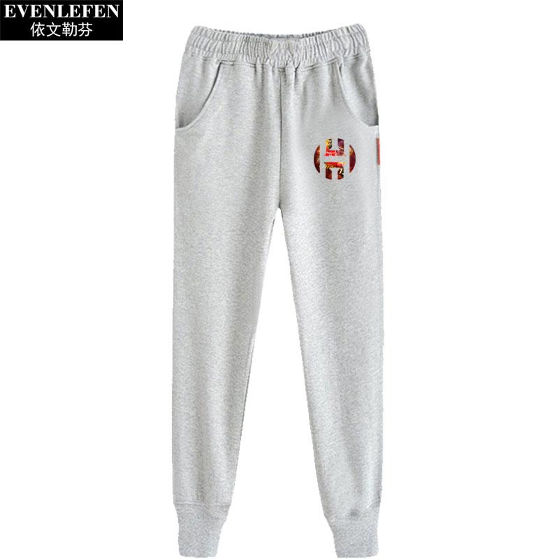 詹姆斯哈登小脚裤男士篮球运动裤子学生休闲裤收口卫裤跑步束脚裤