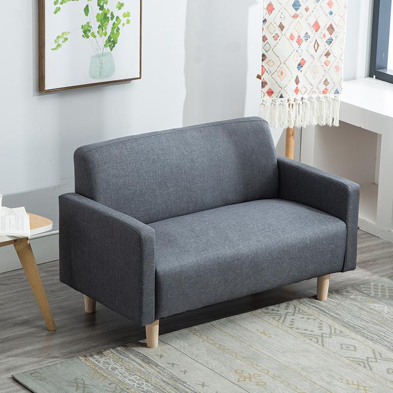简易北欧小型双人两人二三人沙发椅
