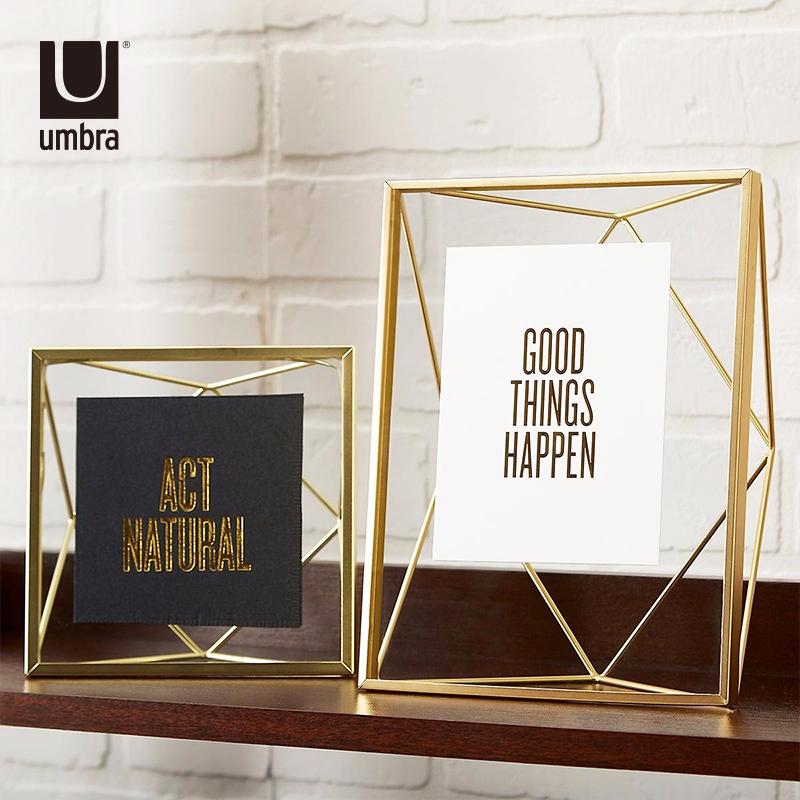 相框摆台umbra创意礼品照片挂墙现代简约欧式10金属7画框6六寸 - 封面
