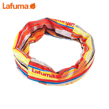 French LAFUMA Le Fei Ye men and women outdoor multi-functional headscarf couple riding printed scarf LE1F5FC99