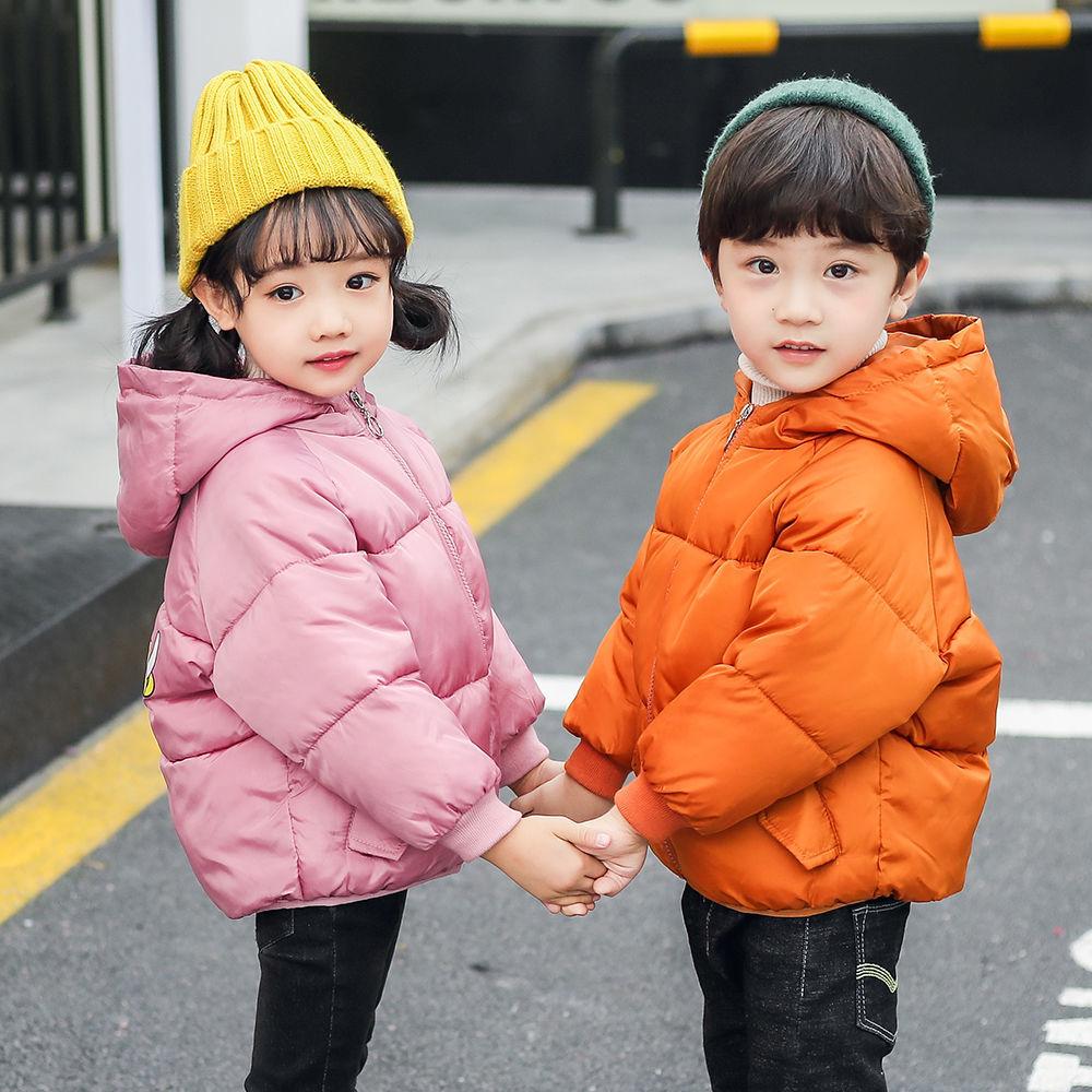 2020新款儿童羽绒棉服宝宝秋冬装棉袄男女童卡通加厚棉衣韩版外套图片