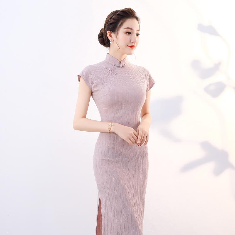 少女装旗袍2018新款夏季现代上海改良旗袍连衣裙小香风中国风年轻