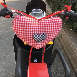 电动车踏板摩托车儿童前置座椅防撞头宝宝枕头防撞包电瓶车防撞垫图片