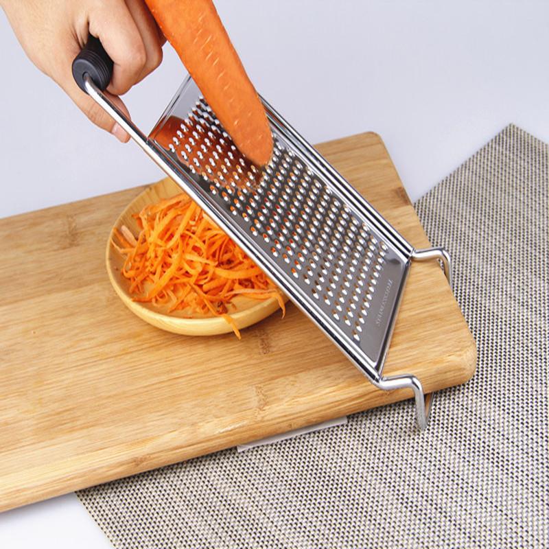 不锈钢萝卜刨丝器多功能擦土豆丝神器切黄瓜粗细丝芝士刨丝器护手