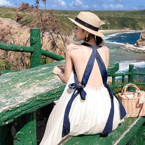 马尔代夫海边新款海南三亚沙滩裙