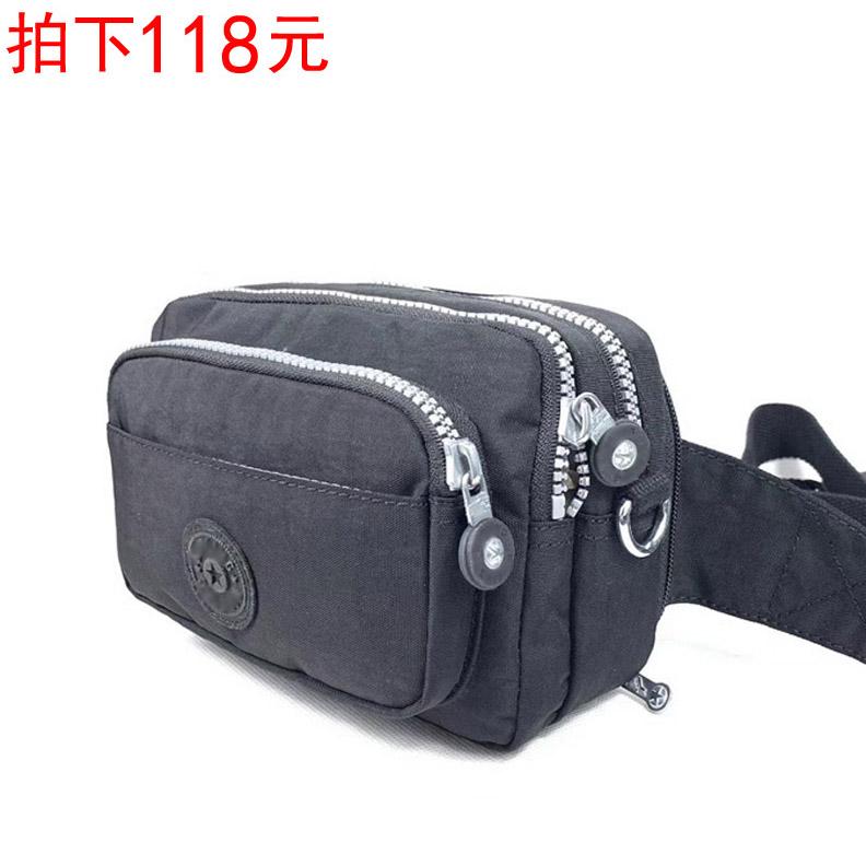 新款腰包防水尼龙包K家猴子包外贸单肩斜挎包女包小包13975