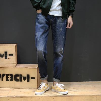 2017秋季新款 高品质牛仔裤日系棚拍M-5X GK34-P50