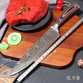 大马士革纹刀厨刀日式料理刀寿司刀切片刀切肉刀水果刀西式主厨刀图片