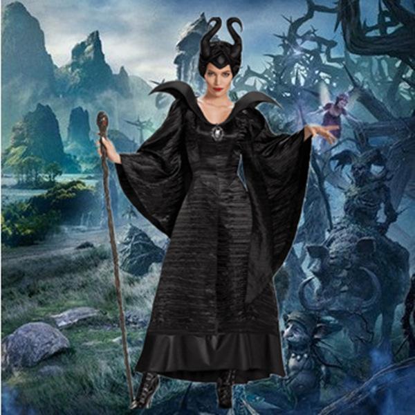 Halloween sleeping charm Black Witch Costume Black Witch role play costume Cosplay stage costume