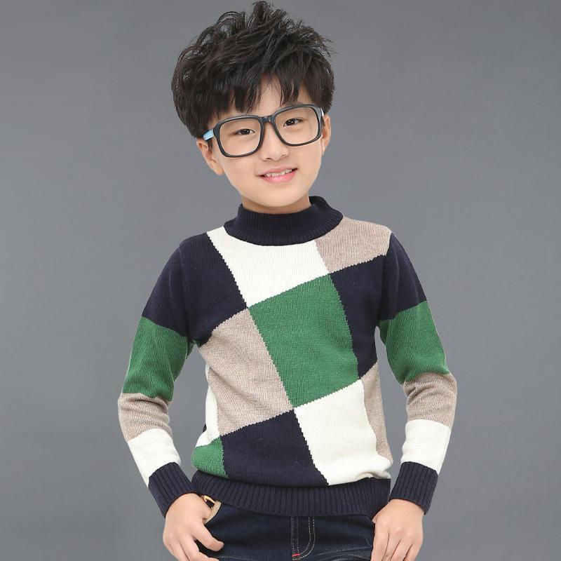 2016 春秋裝男童毛衣中小童針織衫兒童上衣5 6 7 8歲小孩衣服