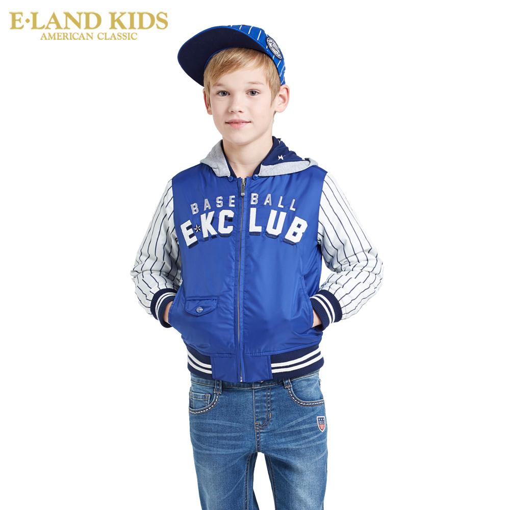 Eland Kids韓國衣戀 2016年季男童棒球服夾克外套EKJP61206K