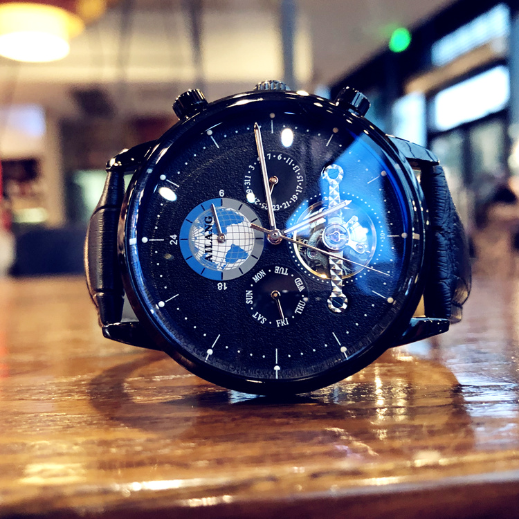 2020 new famous brand watch mens mechanical watch full automatic new concept real belt trend waterproof watch