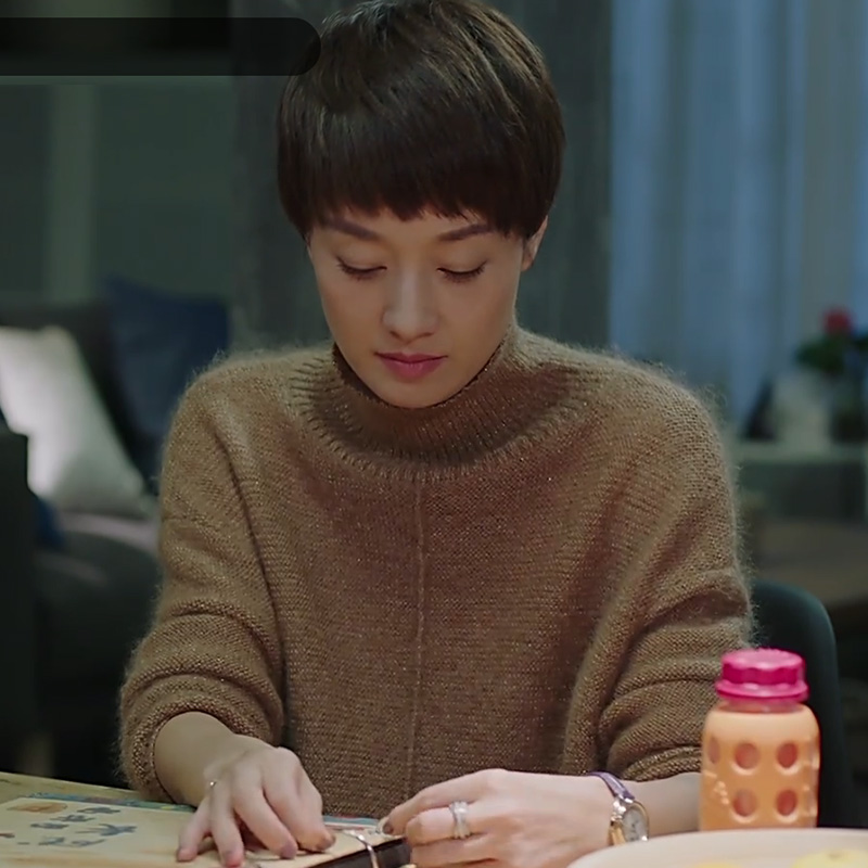 【罗子君】新款秋冬原宿风毛衣