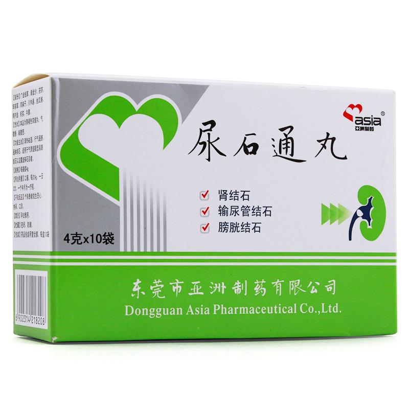 Азия система медицина моча камень через таблетка 4g*10 мешок / коробка