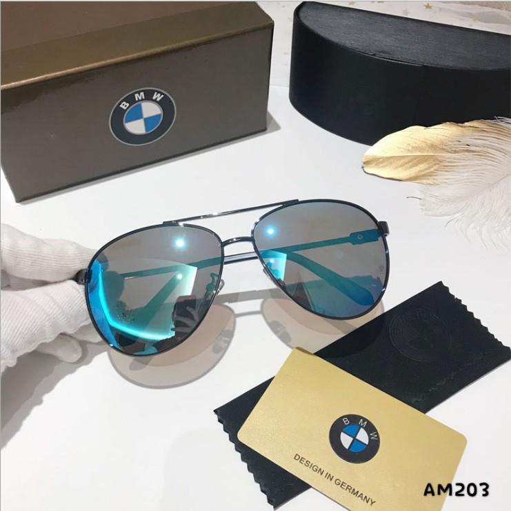 Classic BMW mens polarizing sunglasses personalized glasses fashionable fashionable sunglasses retro drivers mirror large frame toad mirror