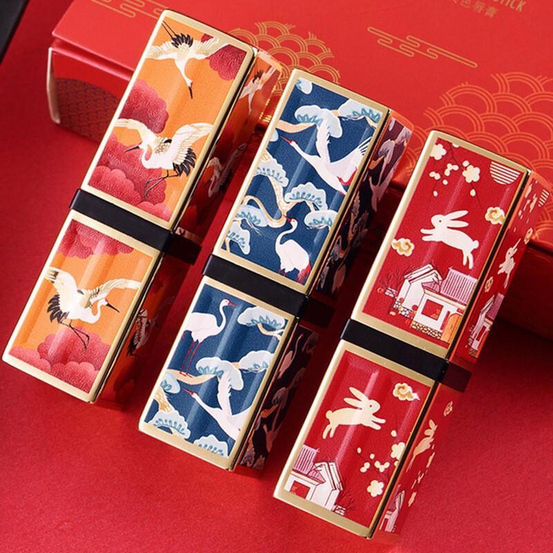 七夕礼盒仙鹤同款哑光学生款口红满100元可用5元优惠券