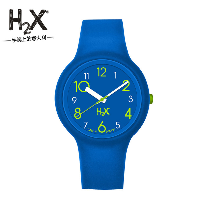H2X childrens watch Boys and girls health silicone sports watch pupils pointer watch waterproof electronic watch