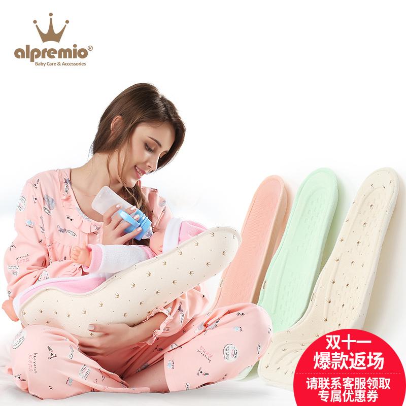 韓國 嬰兒喂奶枕哺乳枕防吐奶防嗆奶哺乳枕頭抱小孩抱寶寶神器