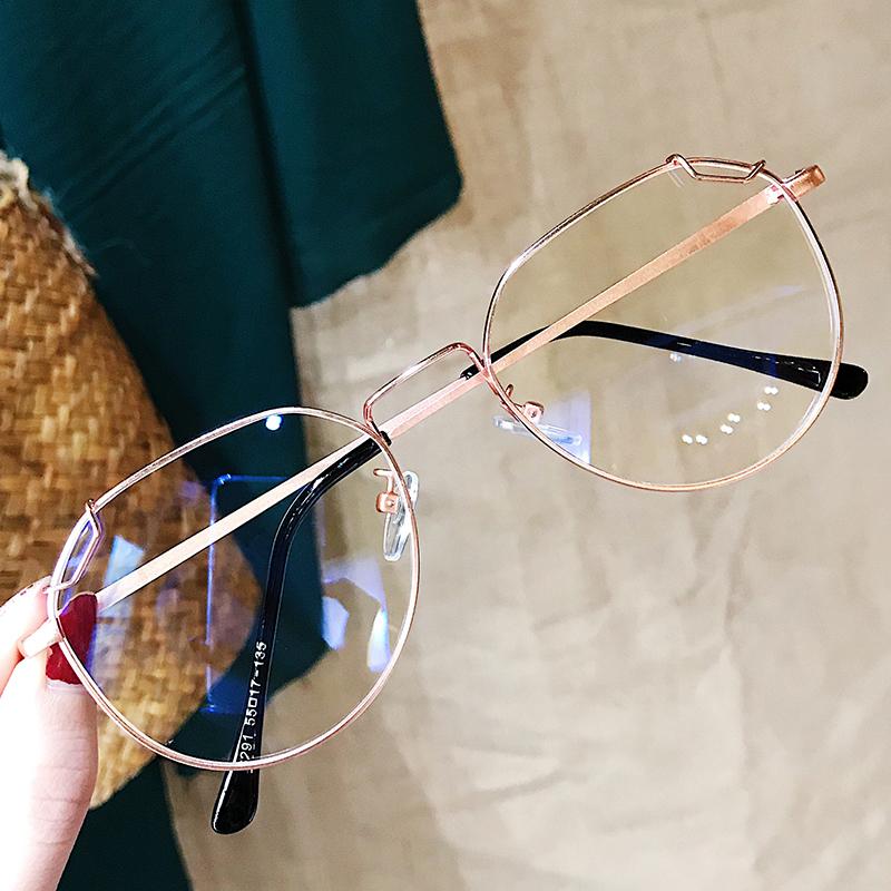 防蓝光辐射护目近视女韩版潮眼镜框28.70元包邮