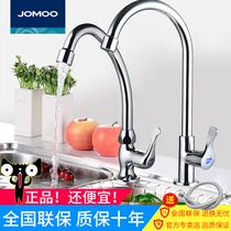 JOMOO九牧厨房水龙头水槽洗菜盆阳台柜水龙头单冷龙头单冷水77017