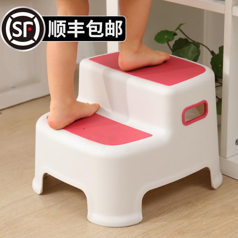 儿童垫脚凳宝宝踩脚椅子凳子小板凳洗手台阶小孩凳防滑脚踏凳站凳