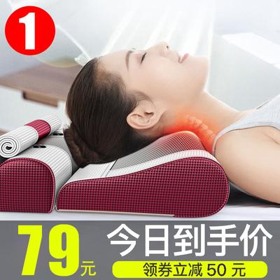 多功能肩颈椎按摩器颈部肩部家用电动理疗揉捏仪腰椎劲椎枕头神器