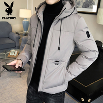 Playboy Cotton Man Winter 2018 new Korean version of boys cotton jacket winter down cotton clothes clothing coat tide