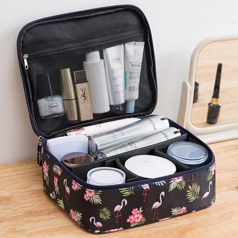 网红化妆包ins风超火小号女便携大容量旅行随身品箱收纳盒洗漱袋