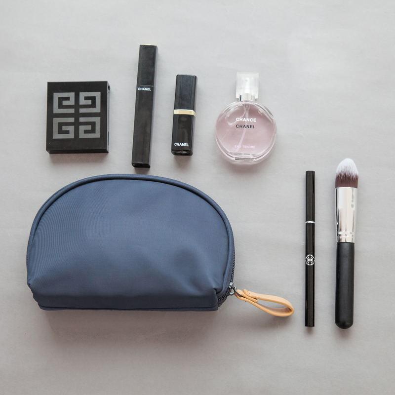 网红化妆包小号ins风超火大容量随身旅行可爱女便携迷你收纳品袋图片