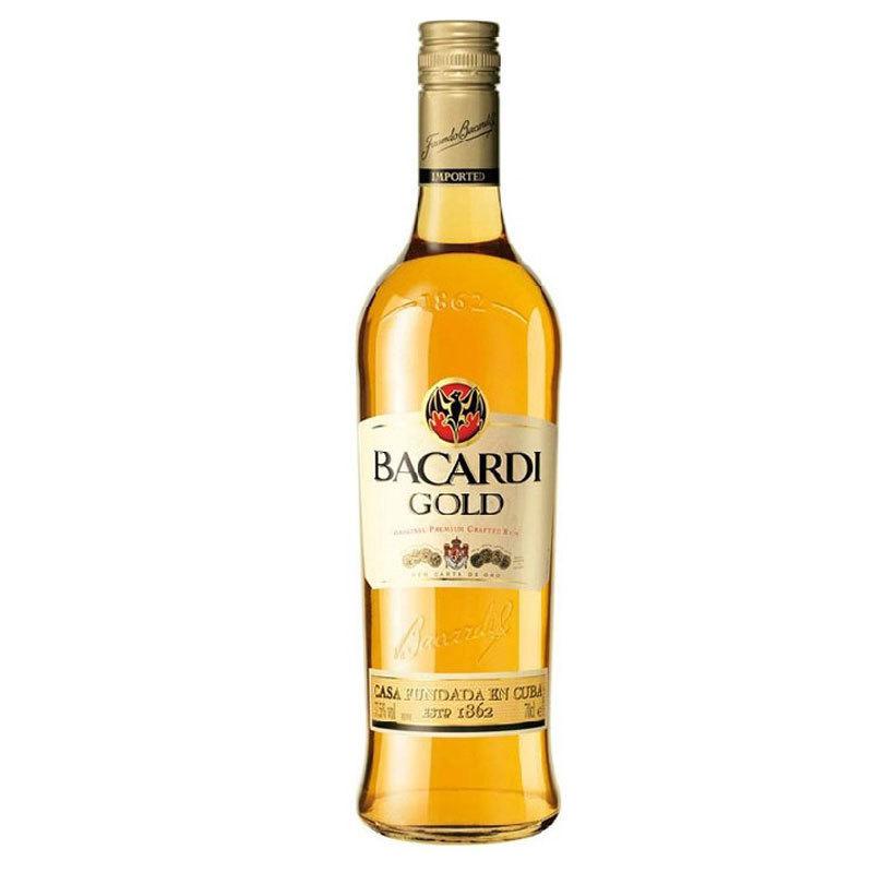 Bacardi GOLD 百加得 金朗姆酒 墨西哥进口洋酒 蒸馏酒烘焙配酒