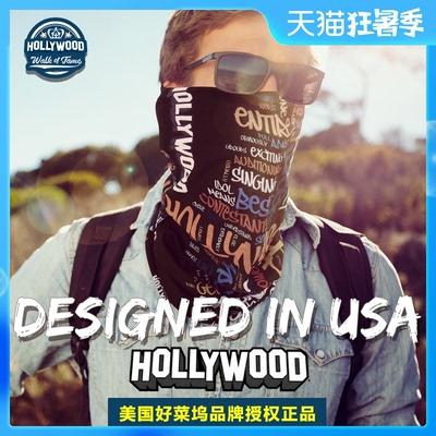 好莱坞冰丝男骑行面罩面巾夏季头巾