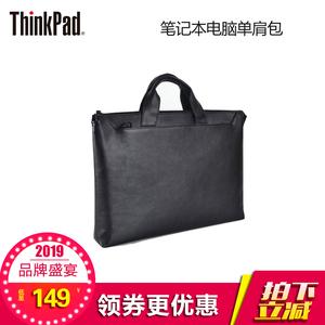 联想Thinkpad T490 T480 T470 E490 E480 14寸笔记本电脑单肩包 商务手提皮包拎包 TL400