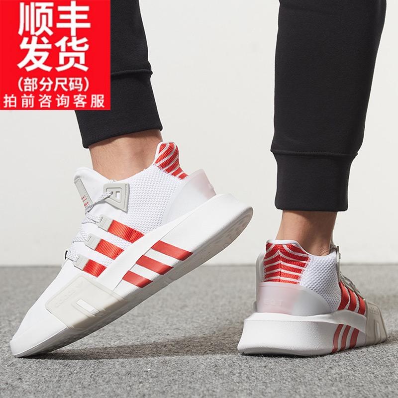 阿迪达斯官网男鞋三叶草女跑步鞋2019冬季新款EQT跑鞋鞋子运动鞋图片