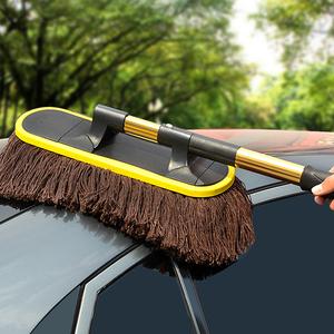 汽车擦车拖把除尘掸子刷子扫灰车用毛刷掸车用品大全实用洗车神器