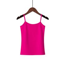 韩版小吊带背心女夏性感外穿纯棉大码休闲内搭打底衫无袖T恤上衣