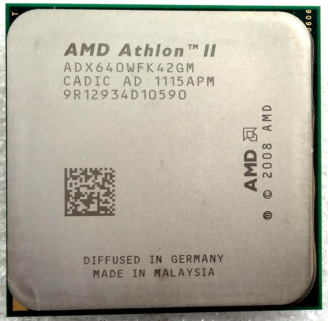 AMD Athlon II X4 640 635 630 620等 938针4核 AM3台式机 CPU