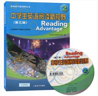 正版中学生英语阅读新视野2(附光盘第3版)英语学习新视野丛书附CD 第二册第三版  圣智学习出版公司引进中学英语阅读教材