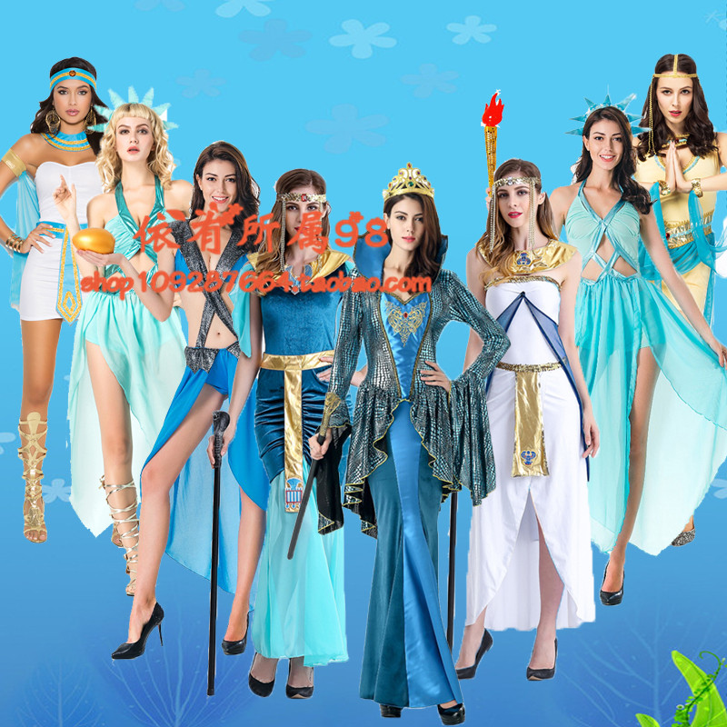 Costumes for adults and mens party dance party role playing of Arab Cleopatra Greek performance Costume
