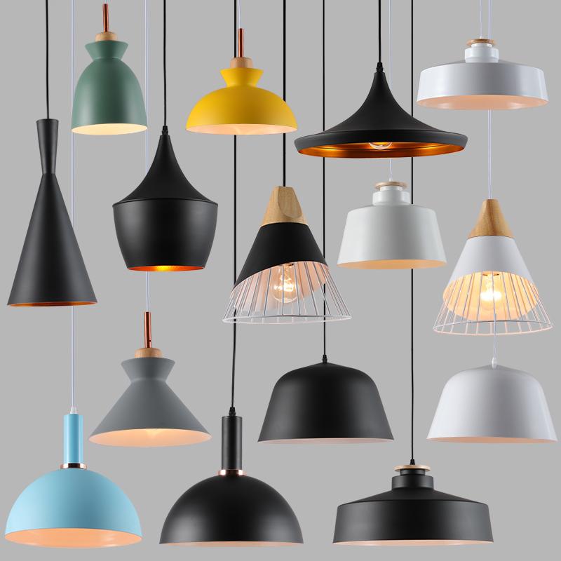 现代简约三头创意个性吧台小吊灯