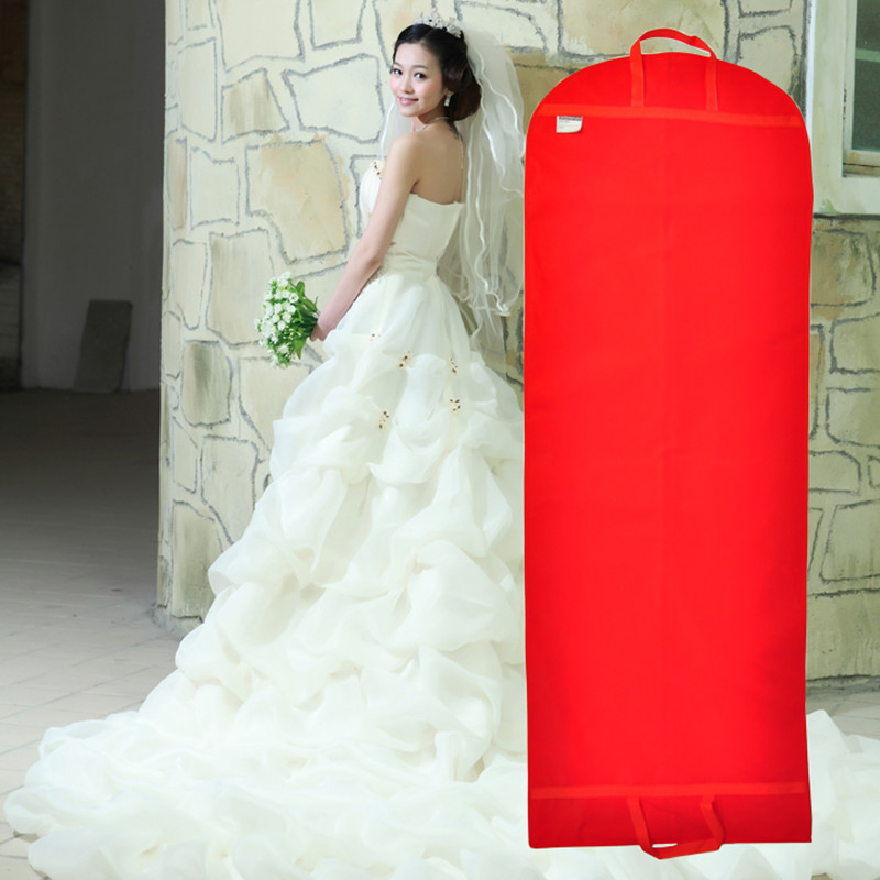 Мено Свадебные платья Специальный мешок пыли доказательство крышка свадебное крышку пыли куртка одежды пыли плащ капот долго би раза кошельки