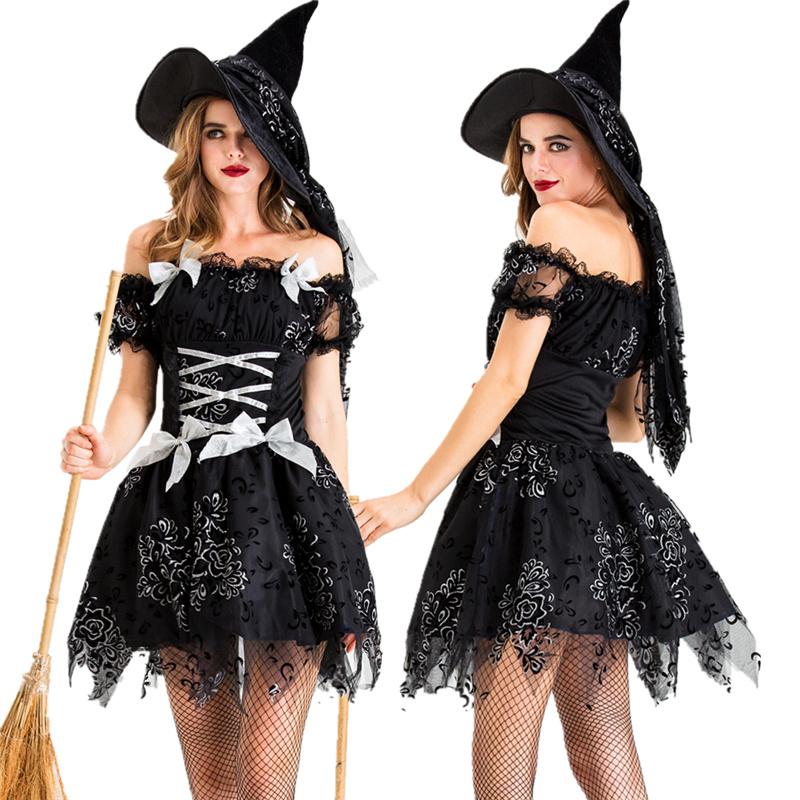 万圣节女王女巫服装成人吸血鬼恐怖cos鬼新娘郎僵尸派对舞会服饰