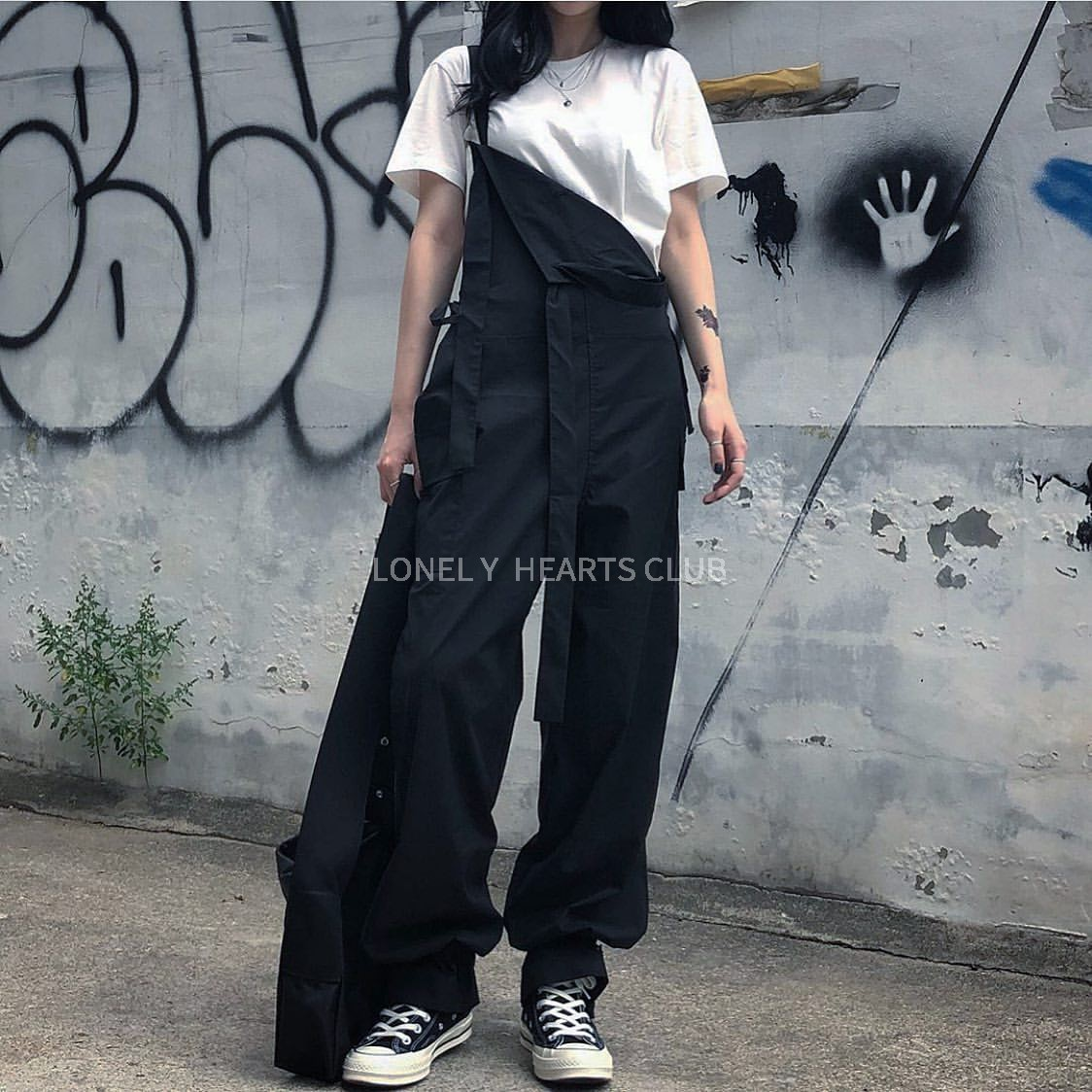 lonelyheartsclub .定制黑白连体裤12-02新券
