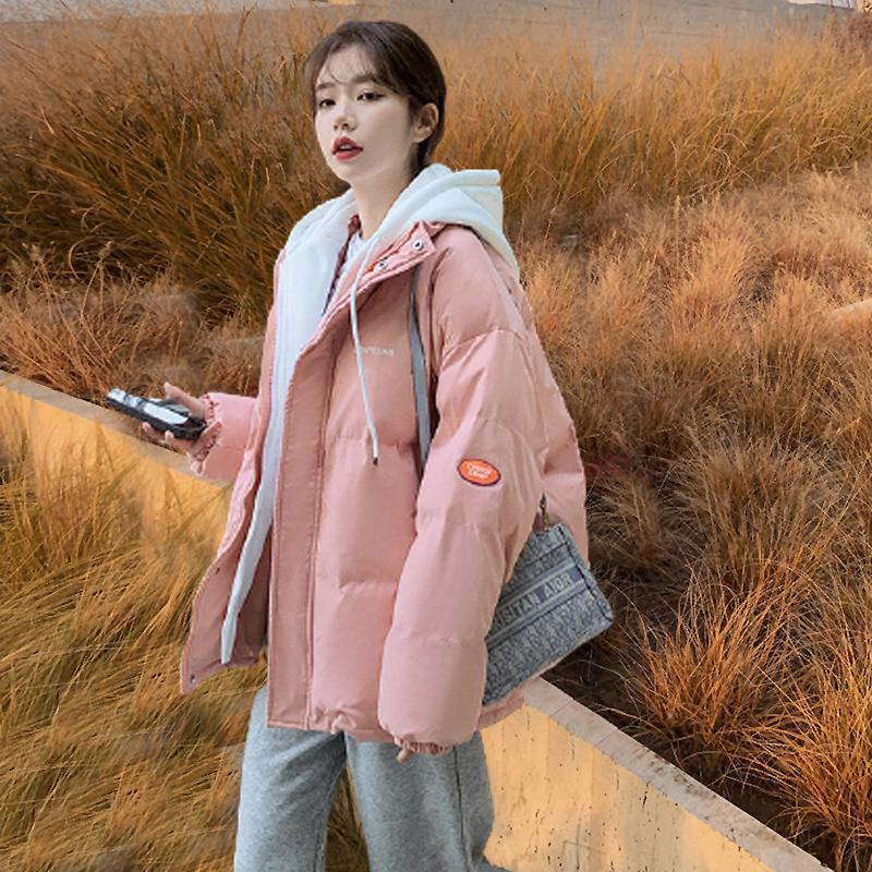 官圖原版2021冬季羽絨服女新款加厚棉服網紅韓版前期支持價格
