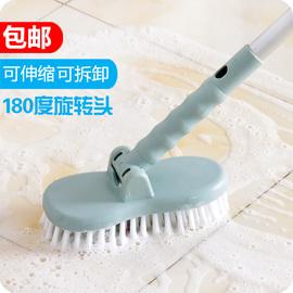 优思居浴室地板刷硬毛长柄清洁刷卫生间墙刷神器厕所浴缸瓷砖刷子