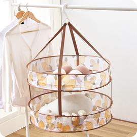 家用羊毛衫毛衣平铺晾晒网袜子晾衣篮晒衣网兜晒衣篮防变形晾衣网